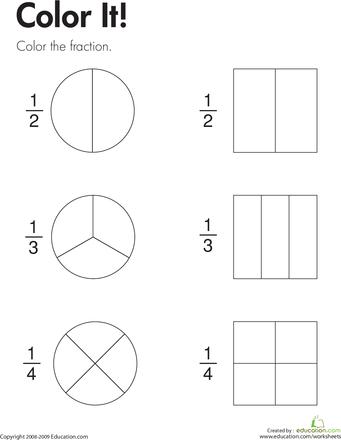 Fraction Practice | Education.com