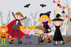 How can you help your child have a fun and safe Halloween when there are scary ghosts and witches everywhere? Take a look at these safe Halloween tips.