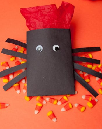 Fourth Grade Holidays & Seasons Activities: Candy Spiders