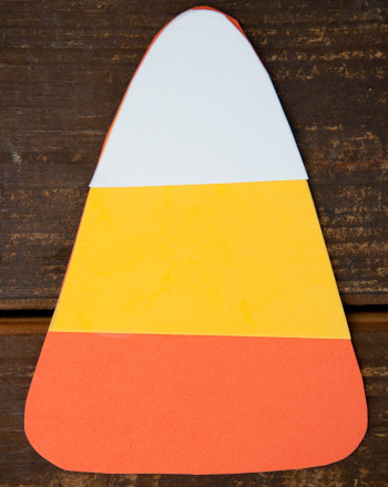 Kindergarten Math Activities: Giant Candy Corn