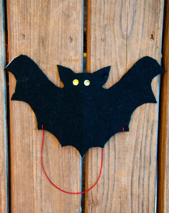 Fourth Grade Holidays Activities: Bat Mask