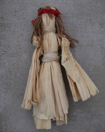 Third Grade Arts & crafts Activities: Corn Husk Dolls