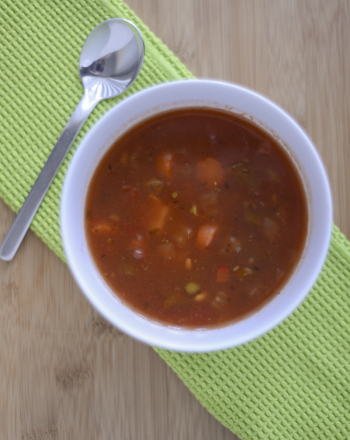 Fifth Grade Recipes Activities: Vegetable Soup