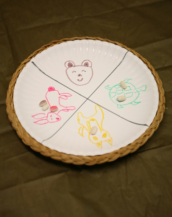 Kindergarten Holidays & Seasons Activities: Play the Iroquois Plate Game