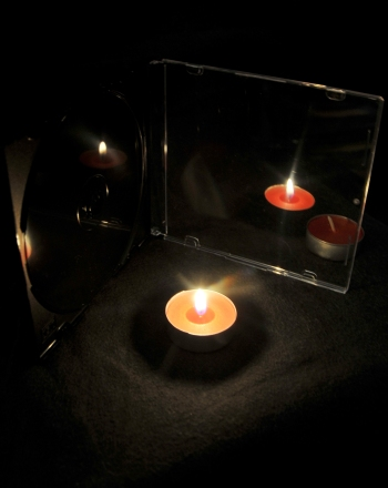 Middle School Science Science Projects: The Candle Illusion: Virtual Images