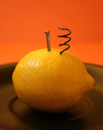 Second Grade Science Science projects: How to Make a Lemon Battery