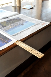 Middle School Science Science Projects: Break a Ruler Using Newspaper and Atmospheric Pressure