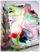 Find out whether we can create motion in a dish and as a result, create a wonderful and colorful show.