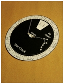 In this free science fair project, build a star clock and learn how to tell time on a clear night by observing the big dipper!