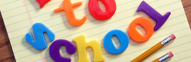 The ABC's of Back to School for Parents