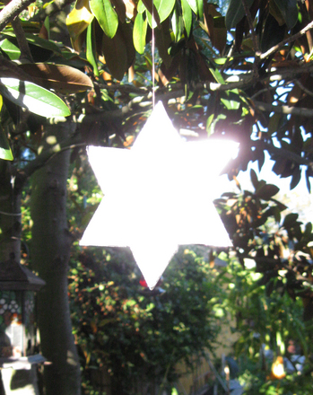 Middle School Holidays & Seasons Activities: Star of David Ornament