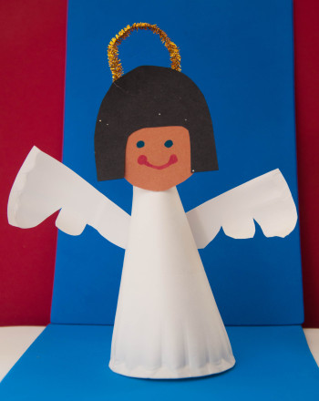 First Grade Holidays & Seasons Activities: Angel Tree Topper