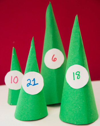 Kindergarten Math Activities: Countdown to Christmas