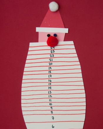 Preschool Reading & Writing Activities: Santa Beard