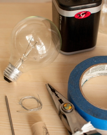 High School Science Science projects: Choosing a Light Bulb Filament