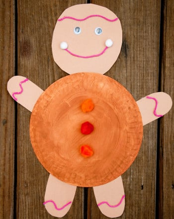 Second Grade Arts & crafts Activities: Gingerbread Man Story