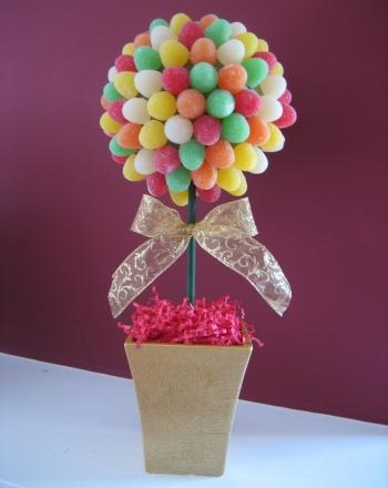 Kindergarten Holidays & Seasons Activities: Create a Gumdrop Topiary