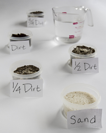 Middle School Science Science projects: Dirty Composition