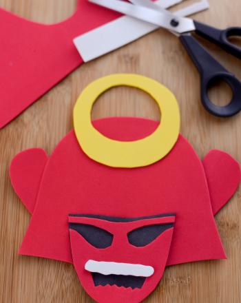 Fourth Grade Social studies Activities: Samurai Helmet