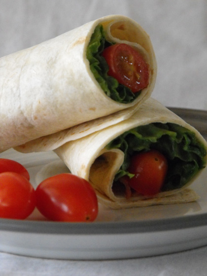 Third Grade Recipes Activities: BLT Wrap