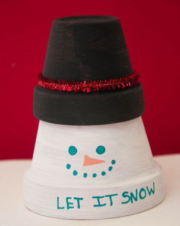 Third Grade Seasons Activities: Snowman Decor