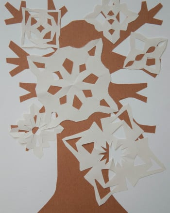 Third Grade Seasons Activities: Snowflake Patterns