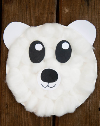 Preschool Reading & Writing Activities: Polar Bear Craft