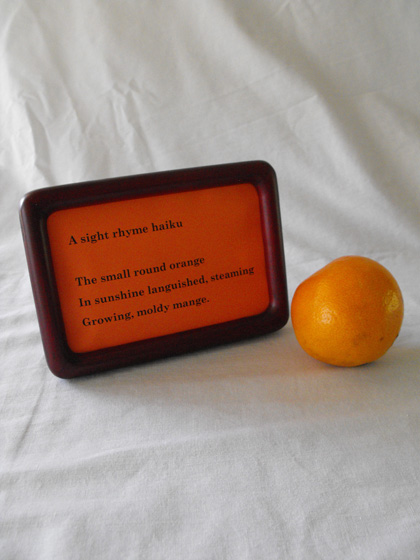 Fourth Grade Reading & Writing Activities: Rhymes With Orange