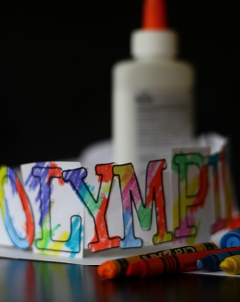 Kindergarten Arts & crafts Activities: Olympic Headband