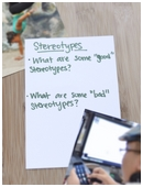 Explore the negative and positive consequences of stereotypes.