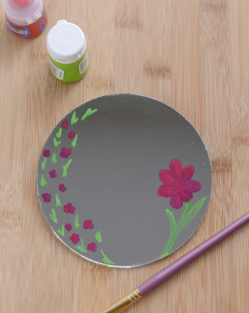 Fifth Grade Seasons Activities: DIY Mirror Craft