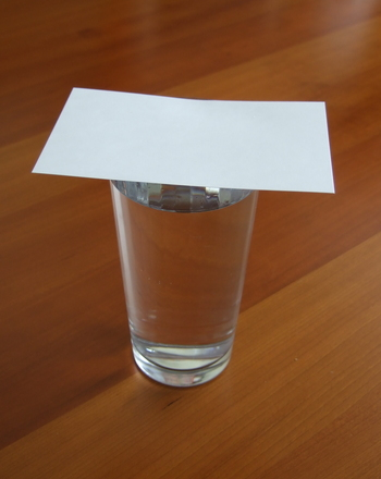 Fifth Grade Science Activities: Try Water Science Trickery!