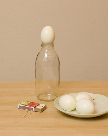 Fifth Grade Science Activities: Egg in a Bottle