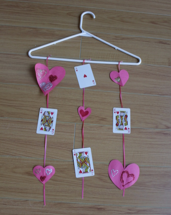 First Grade Holidays & Seasons Activities: Valentine Mobile