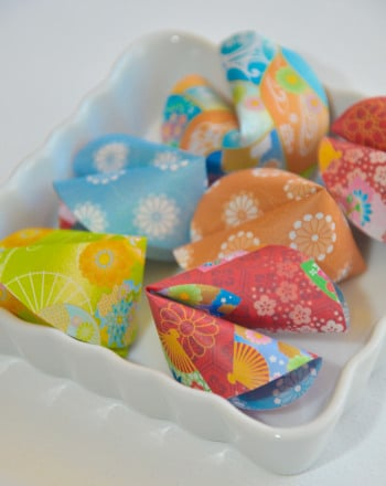 Fifth Grade Holidays & Seasons Activities: Paper Fortune Cookies