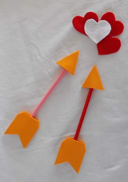 Second Grade Holidays Activities: Cupid's Arrow