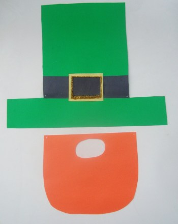 First Grade Holidays Activities: Leprechaun Disguise