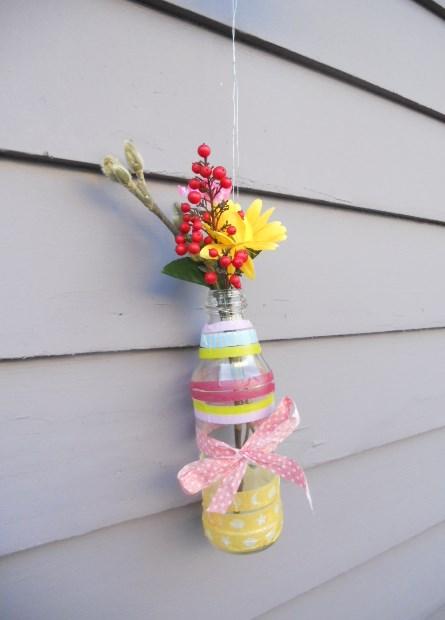Second Grade Seasons Activities: Hanging Vase