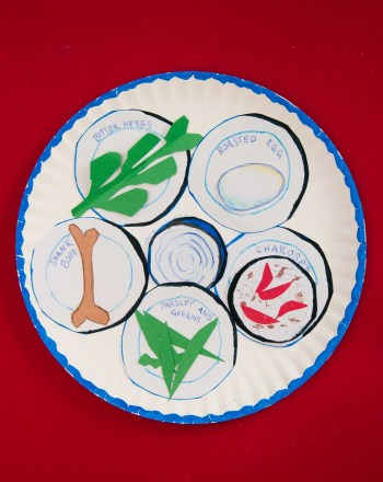 Second Grade Holidays Activities: Seder Plate Foods