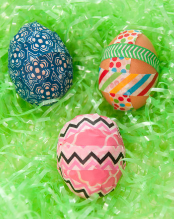 Second Grade Holidays & Seasons Activities: Washi Eggs