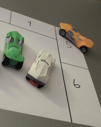 Preschool Math Activities: Car Parking Game