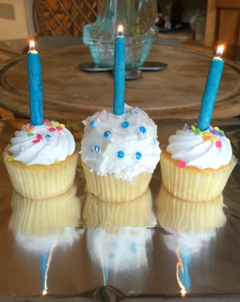 Second Grade Holidays & Seasons Activities: Cupcake Menorah