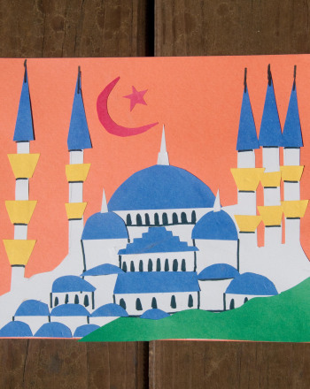 Fourth Grade Holidays Activities: The Blue Mosque