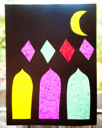 First Grade Arts & crafts Activities: Inside a Mosque