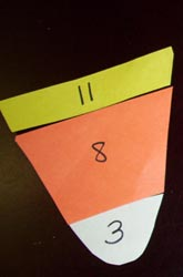Second Grade Math Activities: Candy Corn Subtraction