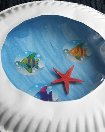 Kindergarten Arts & Crafts Activities: Make a Paper Plate Porthole