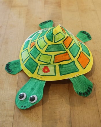 Kindergarten Reading & Writing Activities: Turtle Craft