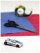 Using a toy race car kids create a visual model of the Doppler Effect.