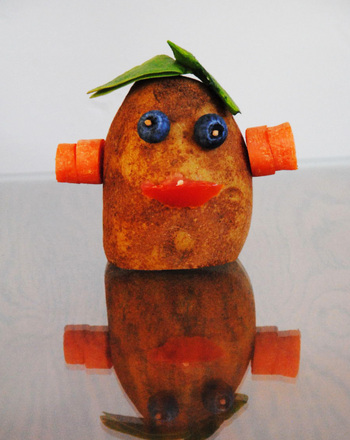 First Grade Seasons Activities: Silly Potato