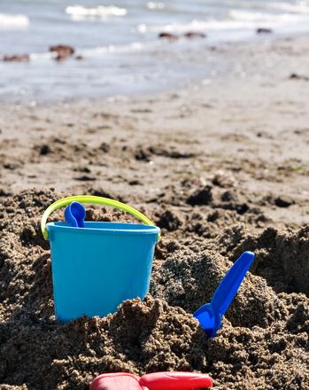 First Grade Seasons Activities: Building Sand Castles
